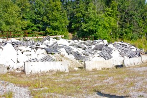 View of the Littleton Rubble Pile